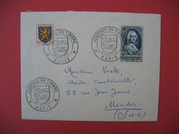 Lettre   Journée Du Timbre 1953   Paris - France