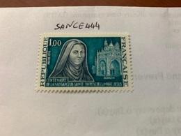 France Sainte Thérèse Mnh 1973 - France