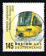 Bund 2017, Michel# 3349 O  Herbert Lindinger - Stadtbahn Stuttgart - [7] Federal Republic