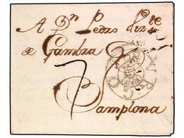SPAIN: PREPHILATELIC MARKS  DP07 BURGOS - Spain