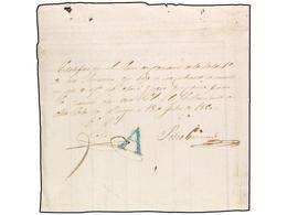 SPAIN: PREPHILATELIC MARKS  DP07 BURGOS - ...-1850 Prephilately