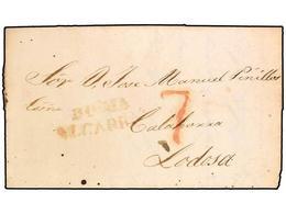 SPAIN: PREPHILATELIC MARKS  DP02 ALCARRIA - ...-1850 Prephilately