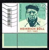 Bund 2017, Michel# 3350 O  Heinrich Böll: 100. Geburtstag - [7] Federal Republic