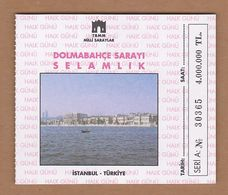 AC - DOLMABAHCE PALACE MUSEUM ENTRANCE TICKET TURKEY - Tickets - Vouchers