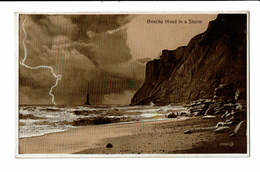 CPA - Carte Postale Royaume Uni - Eastbourne -Beachy Head In A Storm-1916-VM723 - Eastbourne