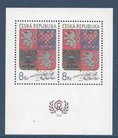 République Tchèque Bloc - Neuf Sans Charnière - 1993 - Blocs-feuillets