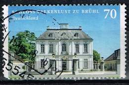 Bund 2018, Michel# 3354 O Burgen Und Schlösser: Schloss Falkenlust Zu Brühl - [7] Federal Republic