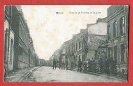 CPA BELGIQUE - HERVE - Rue De La Station De La Gare - Herve