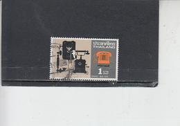 TAILANDIA  1976 - Yvert  792 - Scienza E Tecnica - Telefono - Tailandia