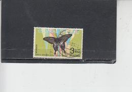 TAILANDIA  1968 - Yvert  500 - Farfalla - Farfalle