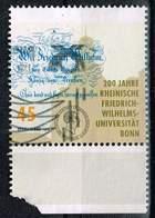 Bund 2018, Michel# 3360 O 200 Jahre Gründung Der Uni Bonn - BRD