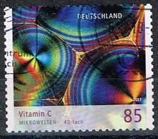 Bund 2018, Michel# 3362 O Microwelten: Vitamin C, Selbstklebend, Self-adhesive - BRD