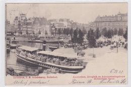 Amsterdam Droogbak En Administratiegebouw Hollandsche Spoor Levendig # 1902   1130 - Amsterdam