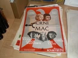 Crni Mac Maribel Martin, Juan Ribo, Josem Rodero, Carlos Ballesteros, - Posters