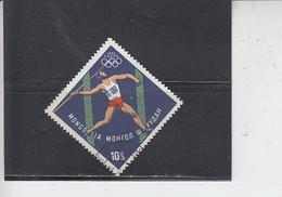 MONGOLIA  1964 - Yvert 314 - Sport  Giavellotto - Estate 1964: Tokio