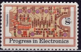 United States, 1973, Progress In Electronics, 8c, Sc#1501, Used - United States