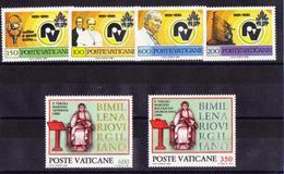 Vaticano 702/5-706/7**  Nuevo - Vatikan