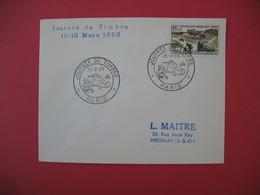 Lettre  Journée Du Timbre  1958  Paris - France