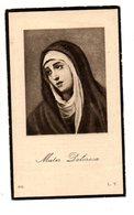 MARIA LOUISA GOMMERS ° KONINGS-HOYCKT 1896 + BRUSSEL 1932 / ALFONS VAN SAET - Images Religieuses