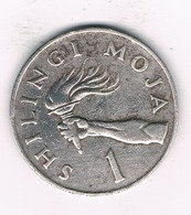 1 SHILINGI 1980 TANZANIA /1514/ - Tanzanie