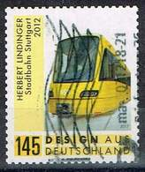 Bund 2018, Michel# 3363 O Stadtbahn Stuttgart Selbstklebend, Self-adhesive - [7] Federal Republic