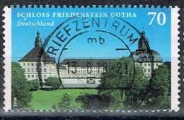 Bund 2018, Michel# 3366 O Burgen Und Schloesser: Schloss Friedenstein Gotha - [7] Federal Republic