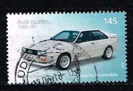 Bund 2018, Michel# 3367  O Automobile  Audi Quatro - BRD