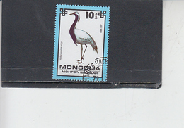 MONGOLIA  1979 - Yvert  A  101 - Uccelli - Fenicotteri