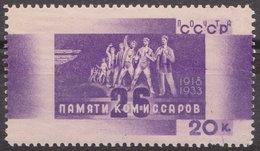 Russia 1933 Mi 459 MNH OG ** - Neufs