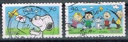 Bund 2018, Michel# 3371 - 3372 O Comic: Peanuts Selbstklebend - BRD
