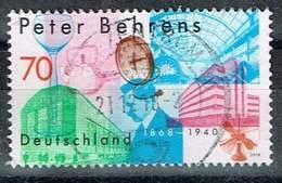 Bund 2018, Michel# 3373 O 150. Geburtstag Peter Behrens - BRD