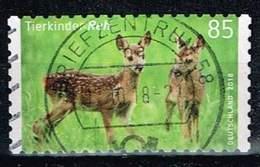 Bund 2018, Michel# 3377 O Tierkinder: Reh, Selbstklebend Aus Markenset - [7] Federal Republic