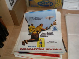 Dijamantska Dzungla Nigel Green James Garner,George Kennedy, Eva Renzi - Posters