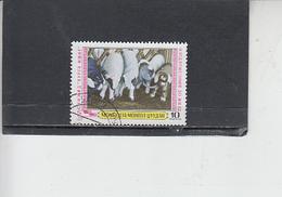 MONGOLIA  1979 - Yvert   1020 - Animali - Francobolli