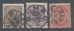 DANEMARK:  Oblitérations Sélectionnées ! - 1905-12 (Frederik VIII)