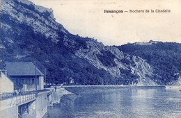 CPA De Besançon (rare). Rochers De La Citadelle. Sans Nom D'éditeur. Sépia. Circulée En 1933. B état. - Besancon
