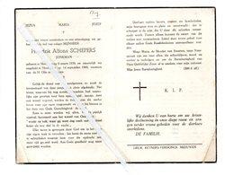 HENDRIK ALFONS SCHEPERS ° MEEUWEN 1938 + HOUTHALEN 1960 JONKMAN - Images Religieuses