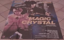 AFFICHE CINEMA ORIGINALE FILM MAGIC CRYSTAL JING WONG Cynthia ROTHROCK Richard NORTON 1986 HONG KONG - Posters