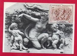CARTE MAXIMUM - CARPEAUX - 4 JUILLET 1970 A VALENCIENNES - - Cartes-Maximum