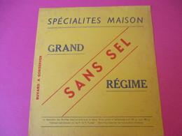 Buvard/Grand Régime/ Sans Sel /Spécialités Maison / Vers 1940-1960         BUV384 - Zwieback