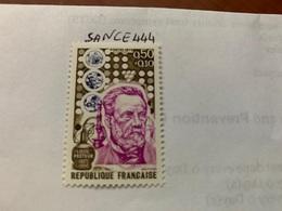 France Famous L. Pasteur Biologist Mnh 1973 - France