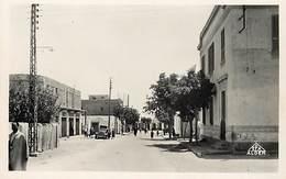 Pays Div- Ref R147- Algerie - Moknine - La Poste Et La Librairie Du Sahel  - Carte Bon Etat  - - Otras Ciudades