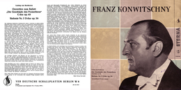 Superlimited Edition CD Franz Konwitschny. BEETHOVEN. SINFONIE Nr.2. PROMETHEUS. - Klassik