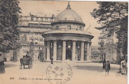 Cp , 75 , PARIS , La Rotonde Du Parc Monceau - Parks, Gardens