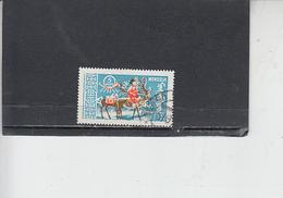 MONGOLIA  1961 - Yvert   197 - Renna - Francobolli