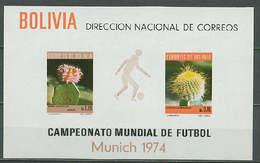 Soccer World Cup 1974 - BOLIVIA - S/S Imp. MNH** - Coppa Del Mondo