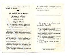 MATHILDE CLAEYS ° BOEKHOUTE 1878 + ASSENEDE 1963 / AUGUST BAECKE - Images Religieuses