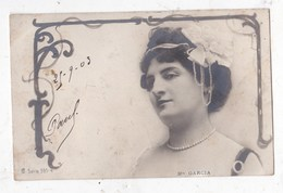 Carte Postale  Madame Garcia - Opéra
