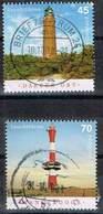Bund 2018, Michel# 3391 - 3392 + 3496 O Leuchttürme: Darßer Ort Und Wangerooge - [7] Federal Republic