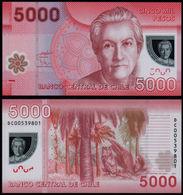 CHILE - 5.000 Pesos 2011 {Polymer} UNC P.163 B - Chili